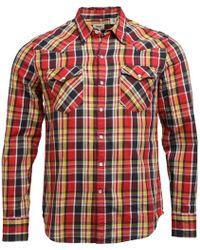 Levi's - Barstow Western Shirt Tambour Cherry Bomb Plaid - Lyst