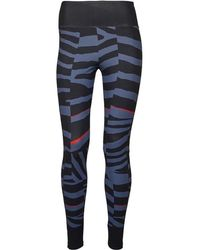 ffd6b495d1c9a adidas - X Stella Mccartney Training Miracle Sculpt Tights Night Grey/tech  Ink/vivid