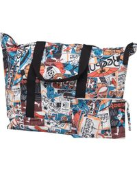 Reebok - Graphic Leather Tote Multi - Lyst