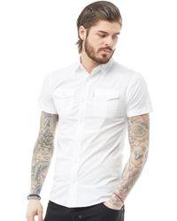 883 Police - Leandro Shirt White - Lyst