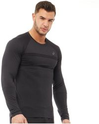 1429573270a Asics - Thermopolis Plus Long Sleeve Running Top Performance Black - Lyst · Ralph  Lauren - T-shirt For Men ...