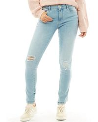 ONLY - Boom Skinny Jeans Light Blue - Lyst