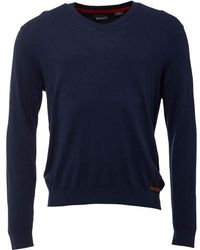 Timberland - Eastham V-neck Jumper Peacoat - Lyst