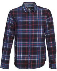 Bench - Guard Shirt Blue - Lyst