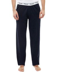 French Connection - Fcuk Lounge Trousers Marine - Lyst