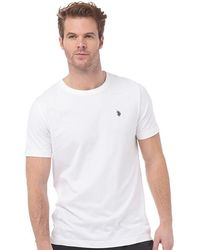 U.S. POLO ASSN. - Legacy T-shirt Bright White - Lyst