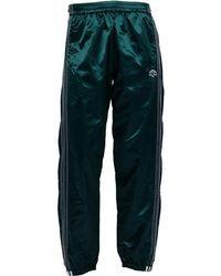 adidas Originals - X Alexander Wang Adibreak Track Trousers Green Night/black - Lyst