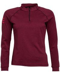 82b1b0a1bab32 adidas - Club Midlayer 1 2 Zip Long Sleeve Top Dark Burgundy energy Pink