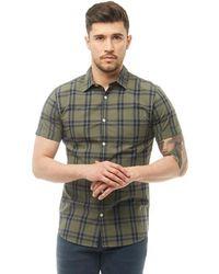 Jack & Jones - Fischer Short Sleeve Shirt Thyme - Lyst