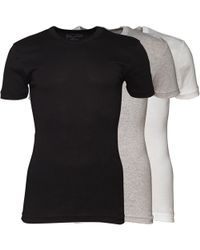 Original Penguin - Three Pack T-shirts Black/white/grey - Lyst