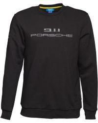 adidas Originals - Porsche 911 Crew Neck Sweat Black - Lyst