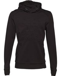 Duck and Cover - Stern Double Faced Hoody Black - Lyst