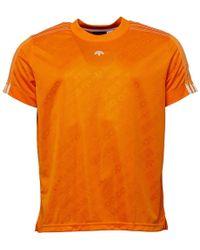 adidas Originals - X Alexander Wang Soccer Jersey Super Orange - Lyst