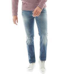 Jack & Jones - Clark Bl721 Reg Fit Jeans Blue Denim - Lyst