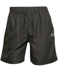 3b6020dbfa40 Champion Tape Poly Shorts in Blue for Men - Lyst