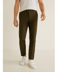 Mango - Slim-fit 5 Pocket Cotton Trousers - Lyst