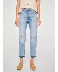Mango - Mom Relaxed Jeans - Lyst