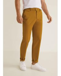 Mango - Regular-fit Chino Trousers - Lyst