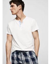 Mango - Short Cotton Pyjamas - Lyst