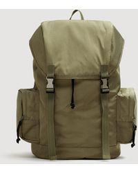 Mango - Multi-pocket Front Lapel Backpack - Lyst
