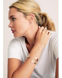 Violeta by Mango - Metal Bracelet Set - Lyst