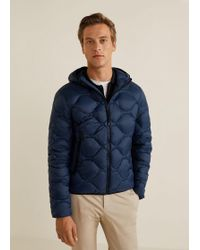 Mango - Foldable Quilted Down Anorak - Lyst