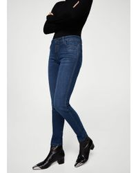 Mango - Push-up Uptwon Jeans - Lyst