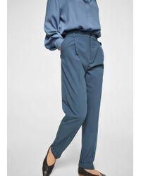 Mango - Trousers - Lyst
