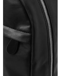 Mango - Faux Leather Backpack - Lyst
