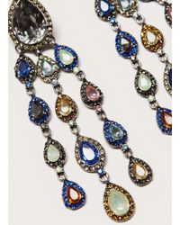 Violeta by Mango | Faceted Crystal Earring | Lyst