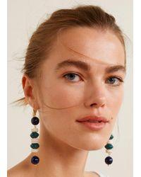 Mango - Ceramic Earrings - Lyst