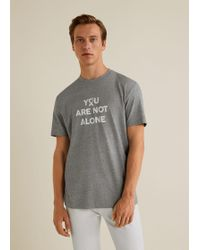 Mango - Solidary T-shirt - Lyst