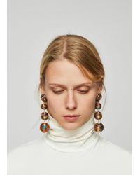 Mango - Tassels Pendant Earrings - Lyst