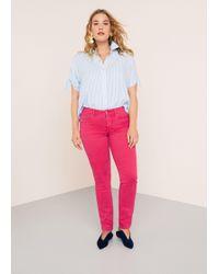 Violeta by Mango - Slim-fit Julia Jeans - Lyst