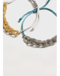 Violeta by Mango - Mixed Bracelet Set - Lyst