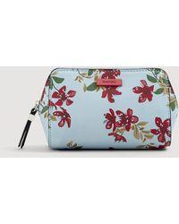 Mango - Floral-print Cosmetic Bag - Lyst