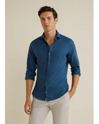 Mango - Cotton Slim-fit T-shirt - Lyst