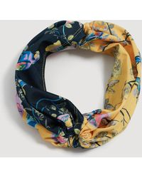 Mango - Turban Headband - Lyst