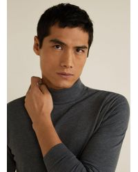 Mango - Turtle Neck Sweater - Lyst