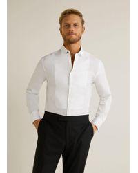 Mango - Slim-fit Bib Tailored Shirt - Lyst