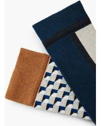 Mango | 2 Pack Printed Socks | Lyst