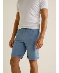 Mango - 5 Pocket Bermuda Shorts - Lyst