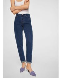 Mango | Mom Relaxed Jeans | Lyst