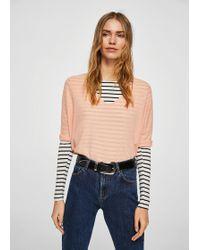 Mango - Ramie Sweater - Lyst