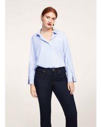 Violeta by Mango | Slim-fit Susan Jeans | Lyst
