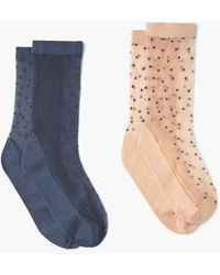 Mango | 2 Pack Polka-dot Socks | Lyst