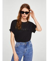 Mango - Ciao T-shirt - Lyst