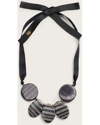 Violeta by Mango - Bead Stone Necklace - Lyst