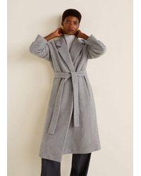 9ad9be533e78 Violeta by Mango Leopard Faux-fur Coat in Brown - Lyst