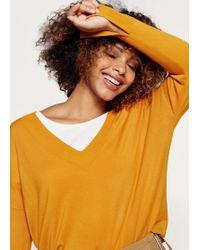 Violeta by Mango | V-neck Sweater | Lyst